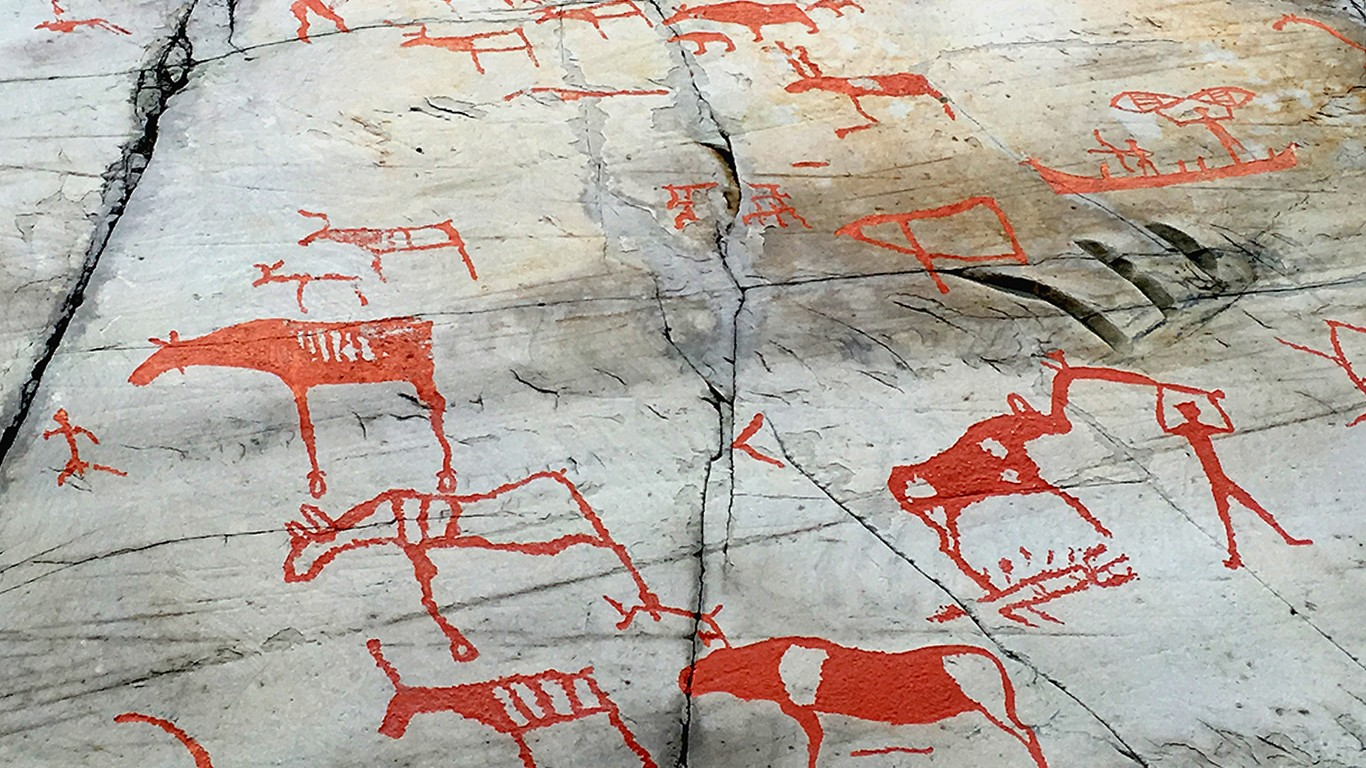 Rock art of alta in northern norway a world heritage site